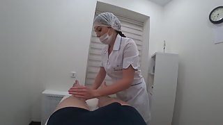 Porn Girl Masseuse Sucks Client & Cum Swallow   Pov, Part1