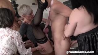 Grandmams Orgy Of The Century