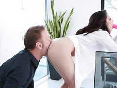 Rocco Goes Full Beast Mode On Loose Asshole Of Petite Jane Wilde