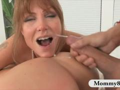 Mature Stepmom And A Teen Share The Big Cock Of The Teens Boyfriend