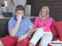 Mature MILF Teaches Teen Boy New Tricks So He Can Satisfy His Teen Girlfriend
