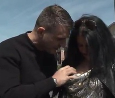 LA NOVICE   Sultry Brunette Romanian Amateur Isabella Takes Deep Hot Anal Pounding