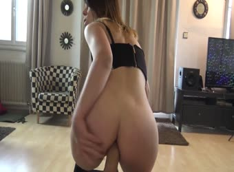 German GF Lets Him Fuck Her Ass Right Away With Big Cock