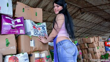 Luna Miel In Naughty Colombian Amateur Luna Miel Gets Picked Up And Fucked Good