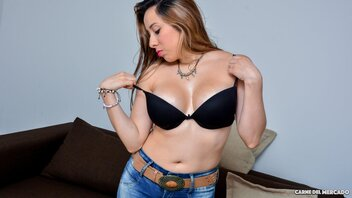 Stranger Was Lucky To Pick Up Amateur Latina Ana Ramirez