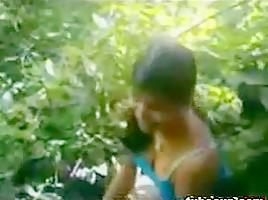 Indian Girl Fucked Outside