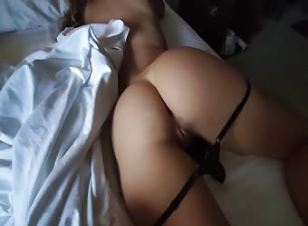 Anal Creampie While She Rests