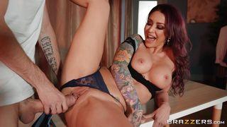 Horny Monique Alexander Enjoys Big Cock In Her Pussy