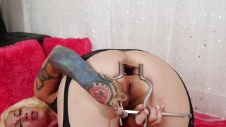 Can Your Cock Fill My Gaping Butt Hole @ Badlittlegrrl Solo #04