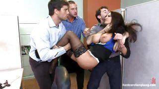 Busty Hot Milf Ava Addams Banged In Office