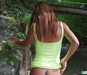 Busty Amateur POV Fuck By The River