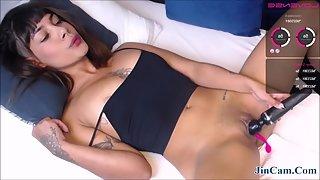 Amazing Solo Latina Enjoys Masturbation A Lot
