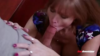 Hot Mom Darla Crane Sucking Cock