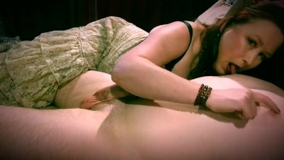 My Hot Amateur Milf Gives Me A Great Handjob/Blowjob With Cumshot Ending