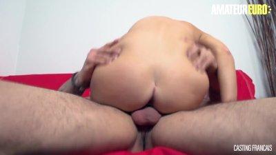 CastingFrancais   Big Tits Canadian Teen Newbie First Erotic Pussy Fuck On Camera   AMATEUREURO