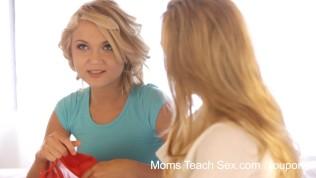 Moms Teach Sex Step Mom And Daughter Tag Team Teen Boyfriend