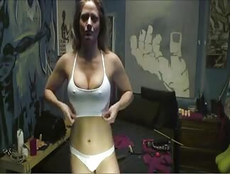 Beauty Ejaculates Out The Huge Guns For Her Pleasure