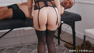 Horny Masseur Getting Fucked On The Massage Table