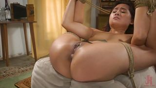 Asian Teen Was Bound And Fucked