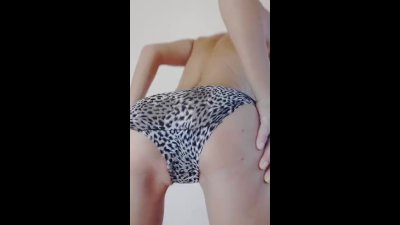 Panties Try On, Modelling And Squirting