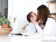 Gisha Forza, Divine Redhead Teen From Russia, Is Down For Sensual Anal