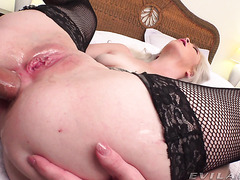 Bimbo PAWG Kay Carter Cums From Big Dick In Her Big Booty