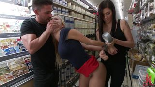 Busty Blonde Gets Humiliated And Face Fucked