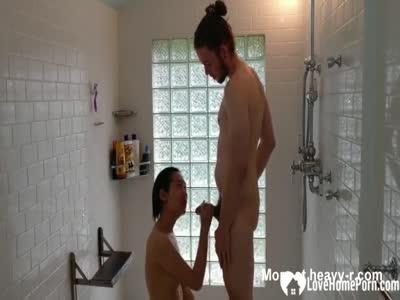 Wild Shower Sex