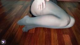 Russian Schoolgirl In Skirt Pee In Pantyhose. Golden Shower. Pissing. Girls Pee | Kinky Dove