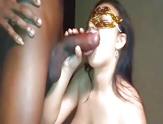 Chubby Hottie Ravaged After Swallowing A Huge Black Cock