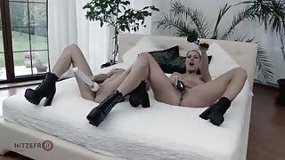 Hot MetArt Girl Masturbates At Ibiza Beach