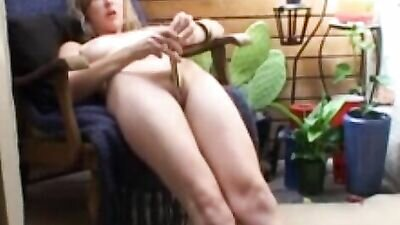 Horny Babe Takes Her Clothes Off And Spreads Her Legs To Masturbate With Toys