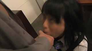 Slutty Asian Babe Seduces Her School Teacher