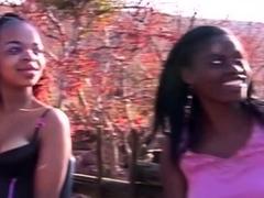 Real Amateur Ebony Sex Party Gang Bang