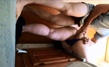 Chubby Asian Girly Assfucked In Bathroom