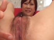Hairy Japanese Girl Squirting